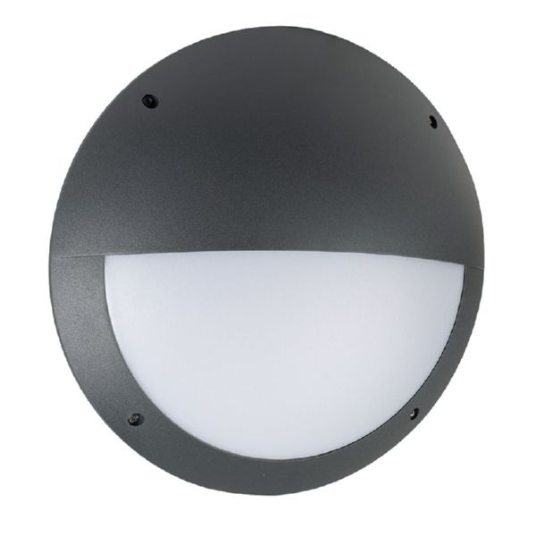 Aplique exterior LED Venus 12 W oe 300 mm color negro