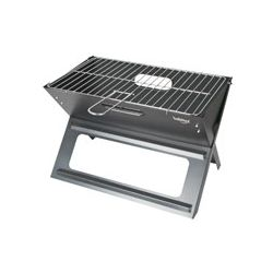 BARBACOA CARBON SUPERGRILL CON PARRILLAS 60 x 37. RUEDAS TRANSPORTE