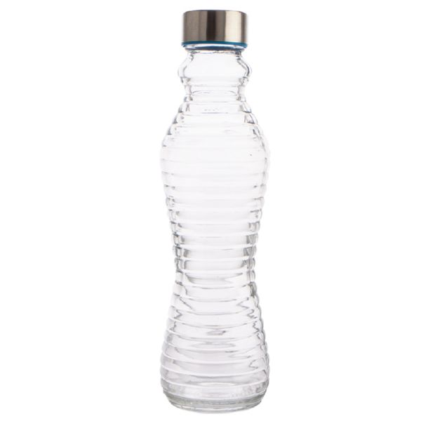 Botella vidrio 500 ml. tapon de rosca