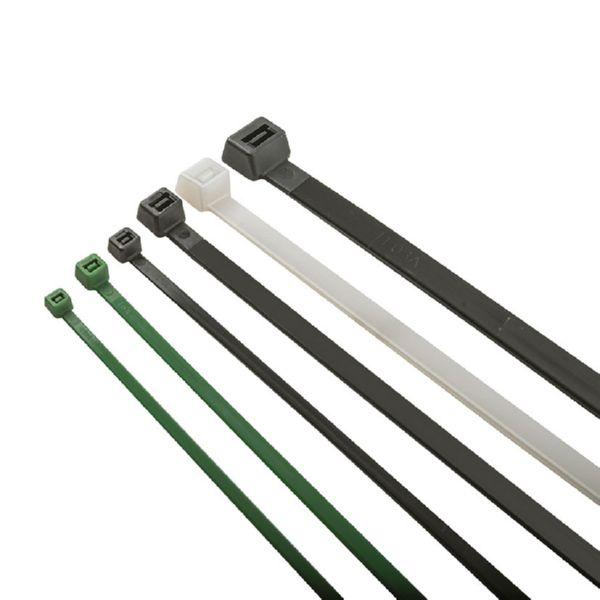 Brida nylon verde 140x3,6 100 ud