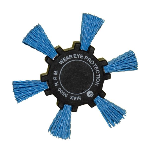 CEPILLO NYLON AZUL ASPA 100MM RATIO