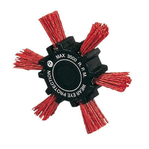 CEPILLO NYLON ROJO ASPA 100MM RATIO