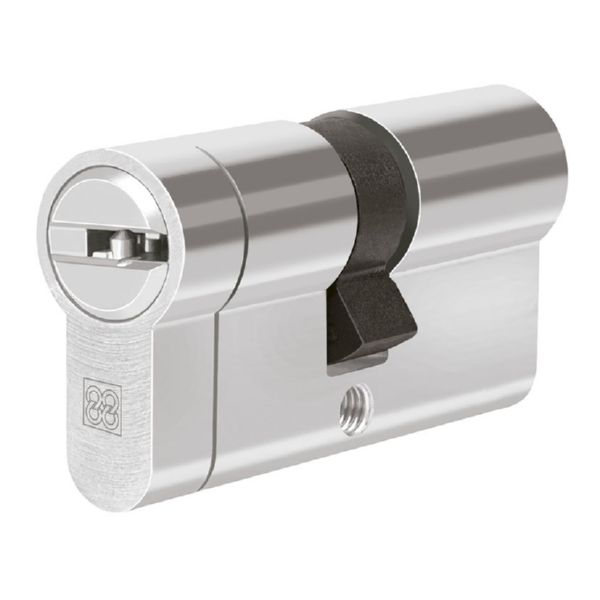Cilindro de seguridad mod.  MPRO. Niquel.. 31x31 mm.
