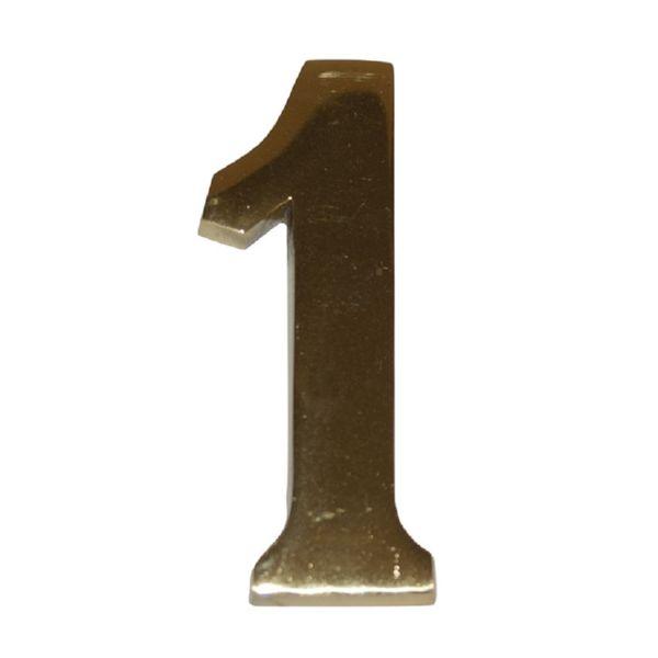 NUMERO LATON 10 CM Nº 1 SKIN EHL