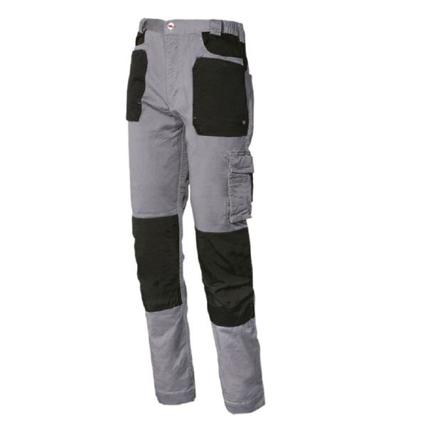 Pantalon algodon STRETCH color gris T/XXL