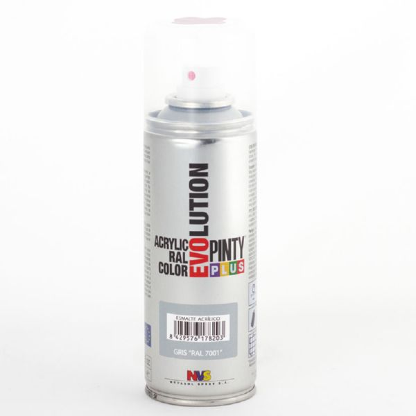 PINTURA SPRAY ACRILICA PLATA BRILL 200ML