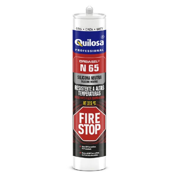 Silicona Neutra Fire Stop. 300 ml.