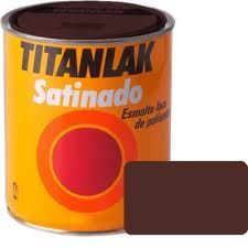 TITANLAK MARRON SATINADO  750 MT